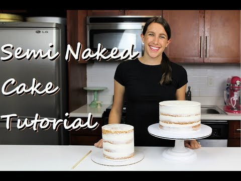 Secrets to Making a Perfect Semi Naked Cake | CHELSWEETS