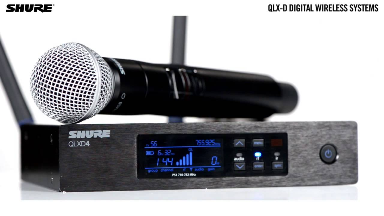 QLX-D Digital Wireless Systems: Sound Quality