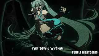 Nightcore   The Devil Within [Lyrics]