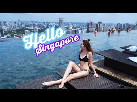 SINGAPORE TRAVEL VLOG | Gwenfckay