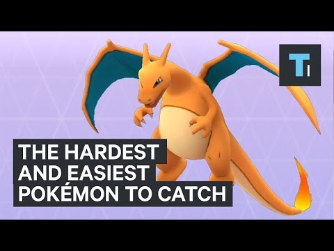 The Easiest And Hardest Pokemon To Catch In Pokemon GO