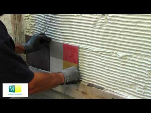 Comment poser du carrelage mural cuisine ? La réponse est sur Admicile.fr