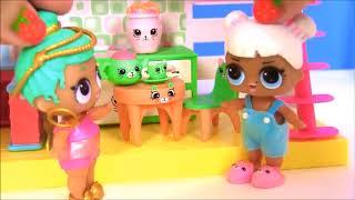 Куклы Лол LoL Surprise Полиция и пупсы ЛОЛ #Видео для детей! Мультик с игрушками!