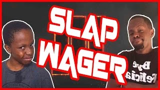 LITTLE BROTHER SLAP WAGER! -  Black Ops 3 Gameplay ft. Trent