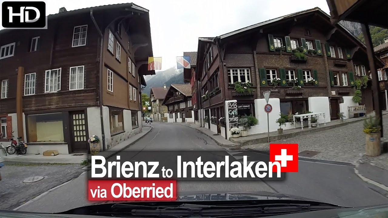 Brienz to Interlaken – Scenic Drive Switzerland!