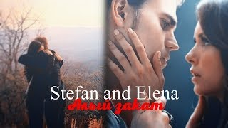 Stefan And Elena Алый закат For HBD XVikaSmith
