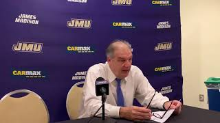 Hofstra's Joe Mihalich Postgame Press Conference vs. James Madison (12/28/19)