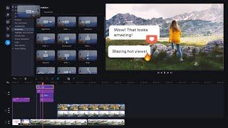 Movavi Video Editor Plus-video