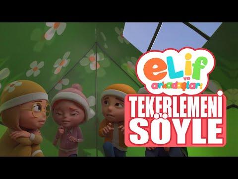 Elif ve Arkadaşları - Bölüm 14 - Tekerlemeni Söyle - TRT Çocuk Çizgi film