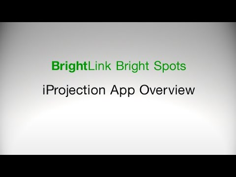 iProjection App Overview