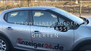 Autohaus Gierten: Neue Autowaschanlage gestartet