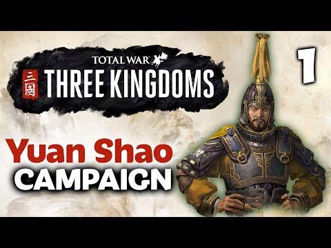 THE DRAGON OF YUAN RISES! Total War: Three Kingdoms - Twitchcon EU - Yuan Shao Campaign #1 of 3