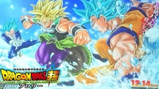 SUPER SAIYAN BROLY FIRST LOOK! Dragon Ball Super Movie 2018 Broly Vs Goku And Vegeta Revealed!