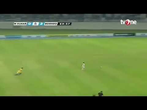 Удивительное ускорение индонезийского футболиста