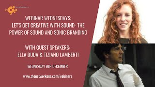 The power of sound and commercial value of sonic branding with Ella Duda and Tiziano Lamberti