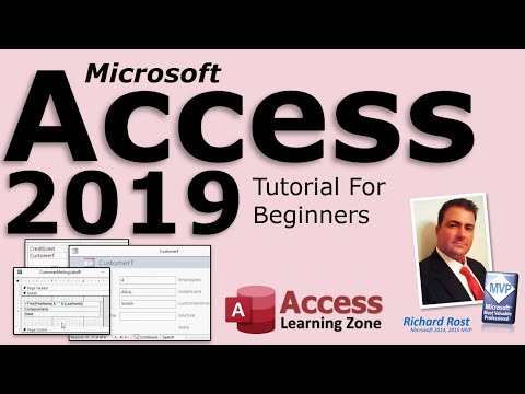 Microsoft Access 2019 Tutorial For Beginners (Covers Access 365 and Access 2016 too!)