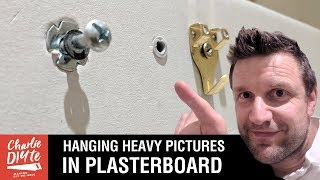 How to Hang a Heavy Picture on a Plasterboard Wall