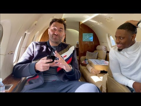 'TOO MANY YES MEN IN BOXING' -EDDIE HEARN (ON PRIVATE JET) GETS REAL ON PEOPLE (FEAT AMMO WILLIAMS)