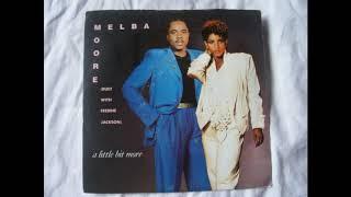 Freddie Jackson & Melba Moore A little Bit more