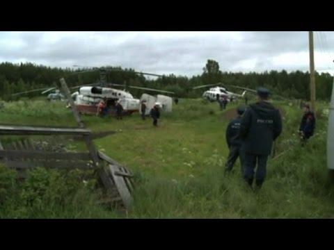 La pesca su una picca si appollaia nel video di Urals