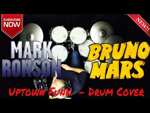 Mark Ronson - Uptown Funk Ft. Bruno Mars - Drum Cover - (4K) Mp3