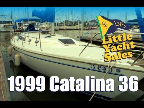 1999 Catalina 36 Sailboat for sale at Little Yacht Sales, Kemah Texas
