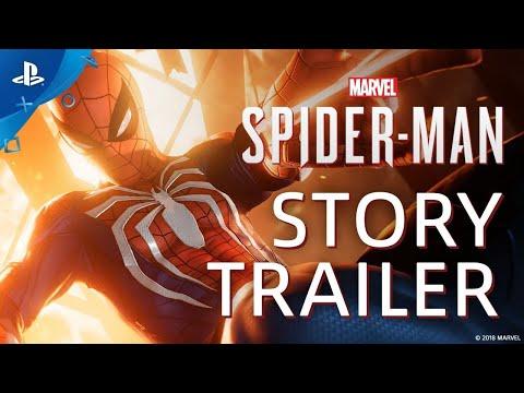 Trailer consacrée à l'histoire du jeu de Marvel's Spider-Man