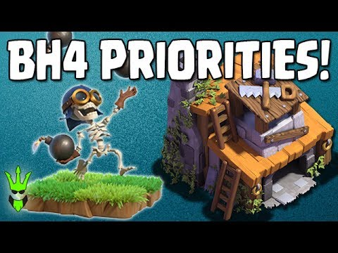 BH4 UPGRADE PRIORITIES! - What to get at Builder Hall 4! - Clash of Clans