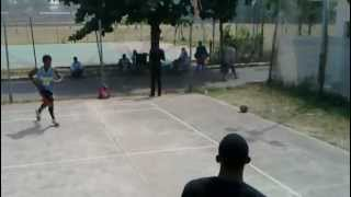 preview picture of video 'unedited dunk session nigeria'