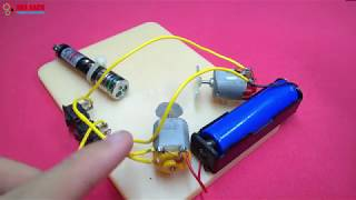 How to Make LASER Light Show Projector