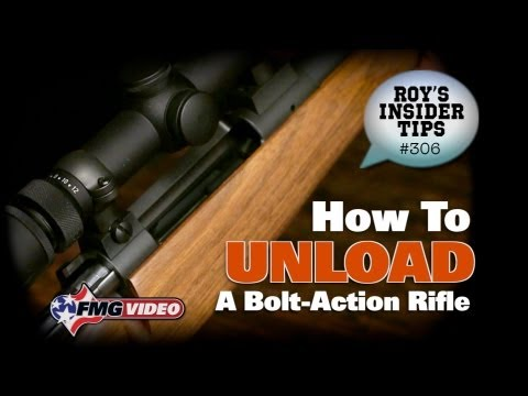 How To Unload A Bolt-Action Rifle