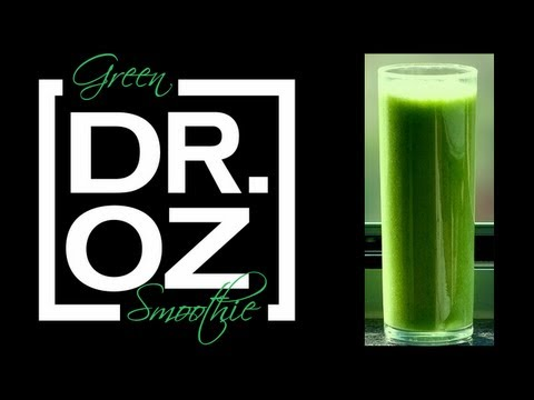 Video Dr. Oz Green Smoothie