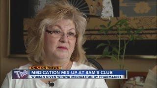 Wrong prescription from Sam's Club pharmacy sickens Adams County woman