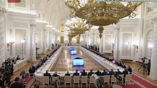 Губернатор Сергей Митин принял участие в заседании Государственного совета России