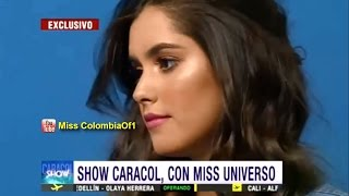 Paulina Vega Miss Universo en nueva campaña
