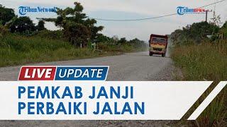 Sering Makan Korban, Jalan Penghubung Tanjung Palas ke Desa Salimbatu yang Rusak Segera Diperbaiki