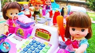 ละครสั้น เมลจังเที่ยวห้าง ซื้อของในห้าง รีวิวของเล่น Just Like Home ของเล่นแคชเชียร์ขายของ
