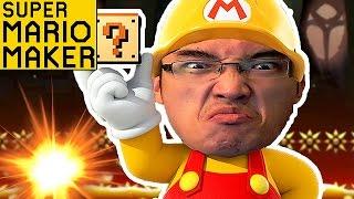 VAIS-JE RAGER COMME UN FOU !? | Super Mario Maker