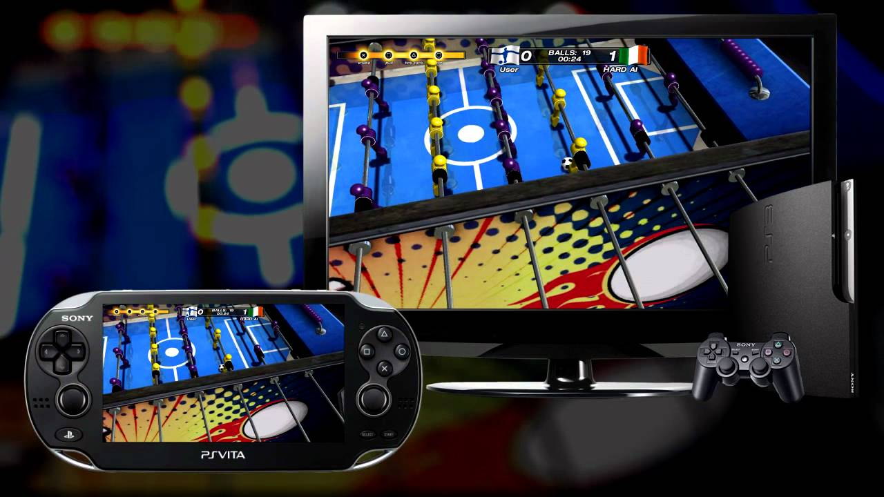 Foosball 2012: Check Out PS3-to-PS Vita Cross-platform Play