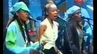 Ziggy Marley - People Get Ready @ Letterman 1997