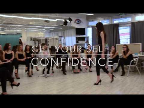 Model training: Posing, catwalk, casting, self-confidence. - YouTube