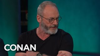 "Liam Cunningham's Secret To Surviving ""Game of Thrones"" - CONAN on TBS"