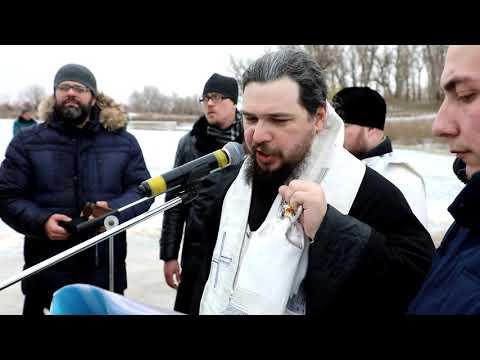 Крестный ход и купание в проруби: в Ахтубинске отметили крещение