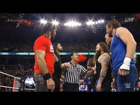 Team Raw Vs Team Smackdown | Highlights Survivor Series 2016