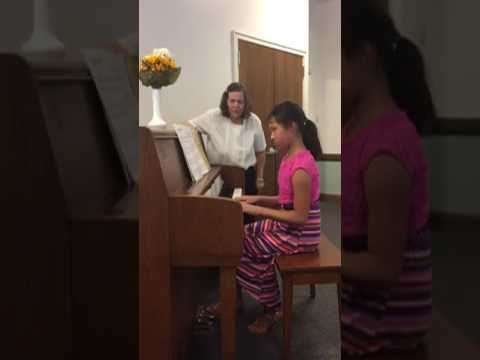 Here are some of Ayn's favorite selections that she played at her piano recital.
