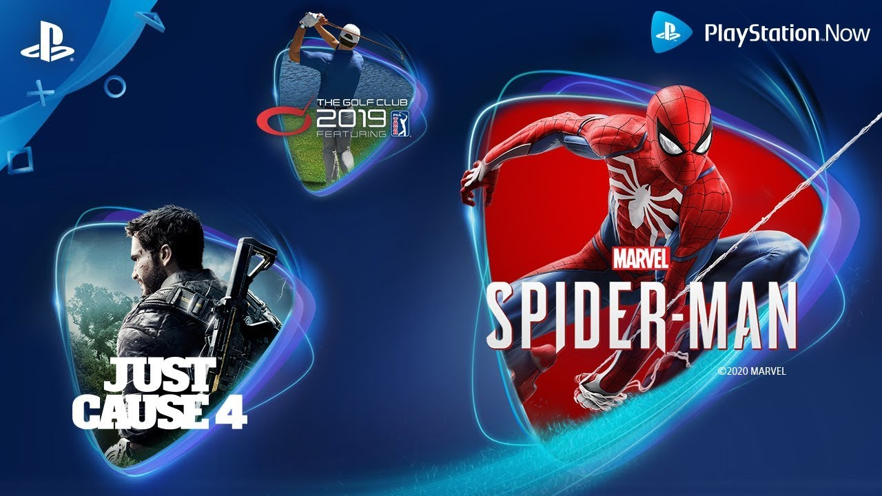 Marvel's Spider-Man, Just Cause 4 and The Golf Club 2019 Join PS Now in April