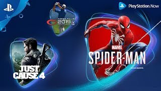 PlayStation PlayStation Now - April 2020 New Games  anuncio