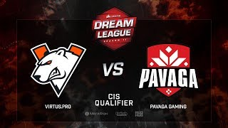 Virtus.рro vs Pavaga Gaming, DreamLeague Season 11, CIS QL, bo3, game 1 [Adekvat & 4ce]