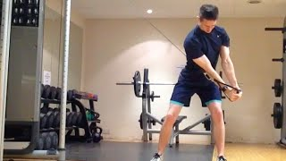 TPI Golf Fitness - Cable Core Exercises