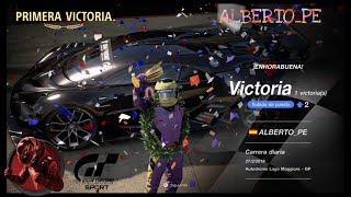 🚩Gran Turismo SPORT Online🚩 Road to Trophy, Record de victorias, Mi primera victoria,Bugatti VGT GR1